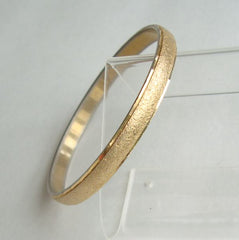 Monet Goldtone Bangle Bracelet Vintage Jewelry