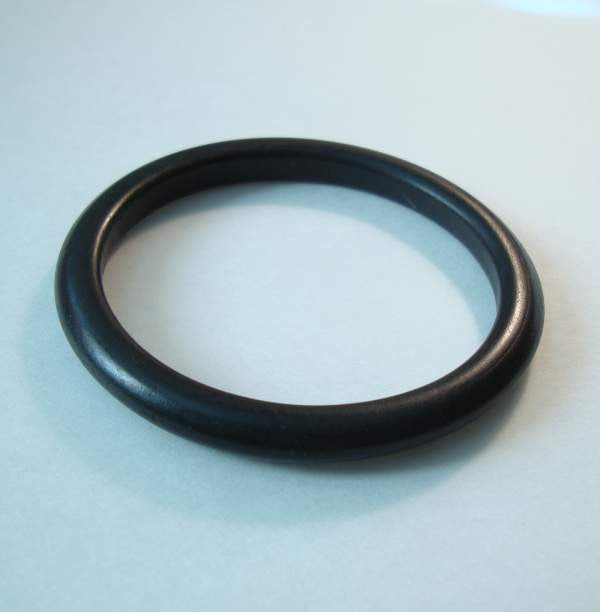 Black Bangle Bracelet Probably Bakelite Vintage Jewelry