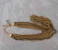 Chico's Heavy 12 Strand Variable Length Chain Necklace NWT Retail 78