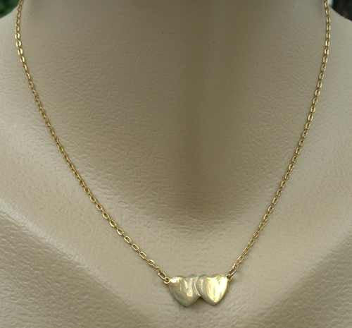 Sarah Coventry FLIRTING HEARTS 1977 Necklace Vintage Jewelry