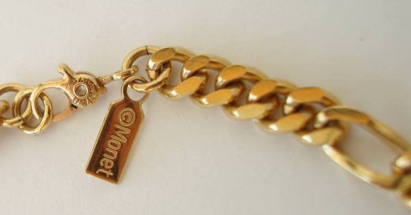 Monet Small Curb Link Chain Necklace Goldtone Jewelry Sharon S