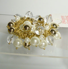 Chico's Bijou Smaller Cha Cha Bracelet Pearls Original Tag Jewelry