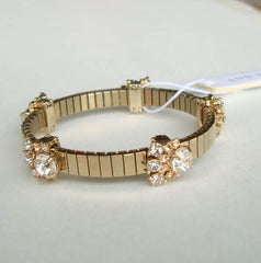 Ann Taylor Rhinestone Bracelet Watch Band Style New with Tag Jewelry