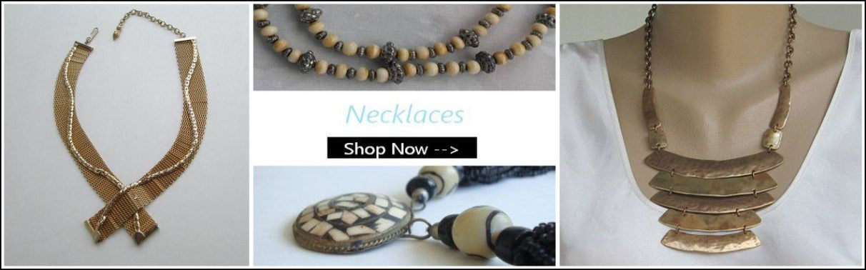 Vintage Necklaces from Sharon's Vintage Jewelry