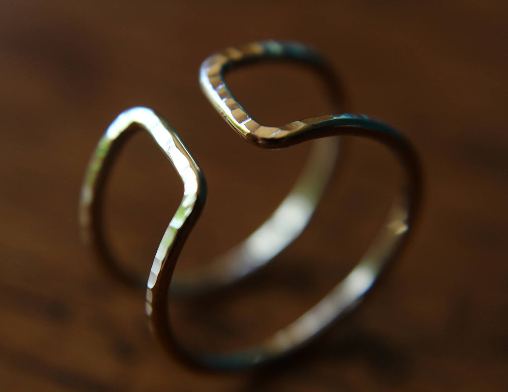 Open Bar Ring,Parallel Bar Ring,Double Bar Ring,Gold Bar Ring,Modern Ring,Open Ring,Modern Minimalist Ring,Line Ring,Double Bar,Double Ring
