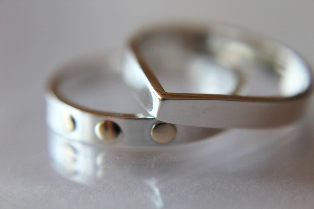Teardrop Ring, Stacking Rings, Modern Rings, Silver Geometric Rings, Simple Modern Rings, Open Teardrop Ring, Minimalist Jewelry,Simple Ring