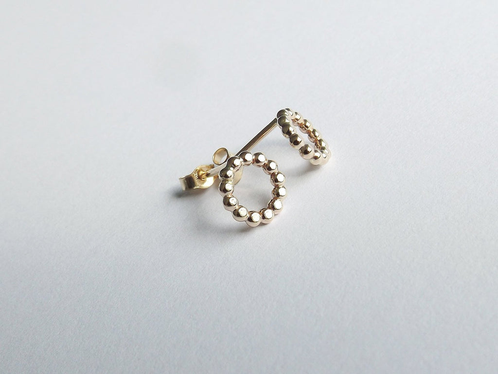 Karma Earrings,Stud Earrings,Circle Studs,Karma Studs,Circle Earring Studs,Simple Earring Studs,Simple Gold Stud Earrings,Circle Earrings