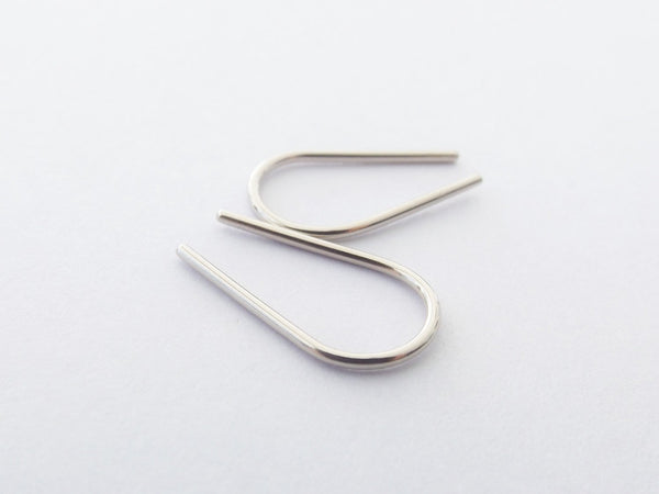 Sale Minimalist Gold Line Earrings,Horseshoe Earrings,Gold Bar Earrings,Gold Arc Earrings,Line Earrings,Wishbone Earrings,Modern Chic,Gold
