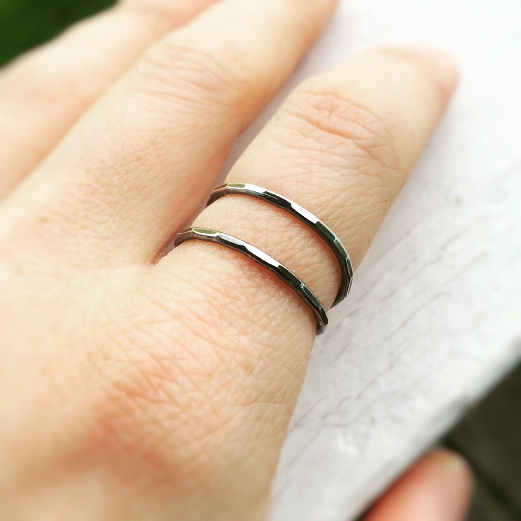 Bypass Ring,X Ring,Thumb Rings,Double Band Ring,Thumb Ring,Textured Rings,Textured X Ring,Stacking Rings,Minimalist Rings,Unique Rings