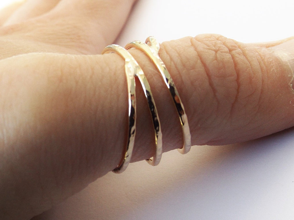 Bypass Thumb Ring, Coil Ring, Textured Thumb Ring, Wrap Around Ring, Statement Ring, Bypass Ring, Textured Gold Jewelry, Modern,Textured