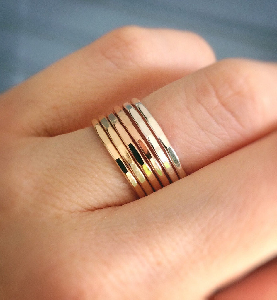 Textured Rings,Heavy Textured Rings,Stacking Rings,Modern Boho Ring,Textured Rings,Boho Chic,Minimalist Rings,Thick Rings,Modest,Simple