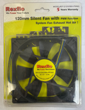 REXFLO 120x120x25mm PWM fan ( DF1212025BH-PWMG )