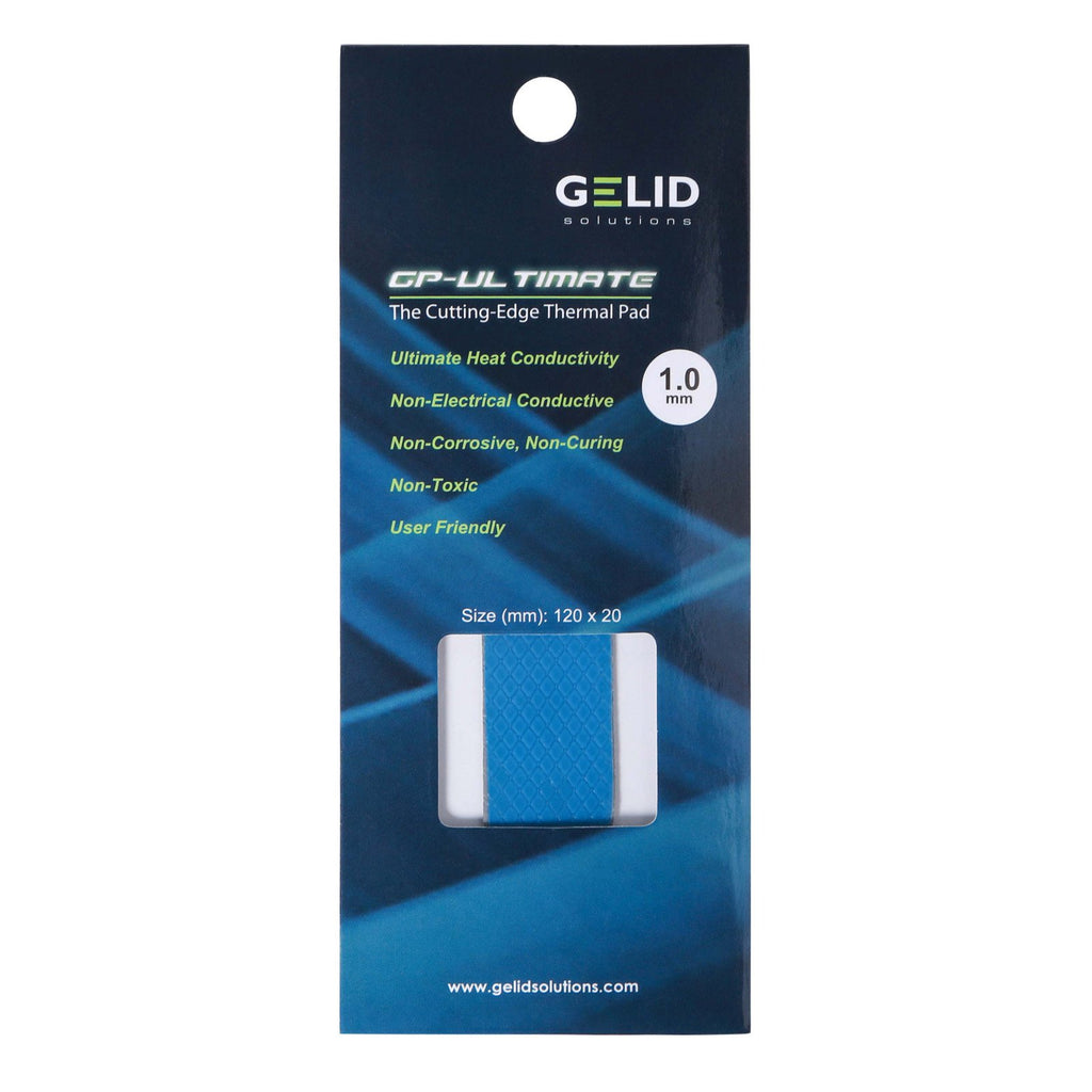 GELID SOLUTIONS GP-ULTIMATE 120×20x 1.0mm THERMAL PAD SINGLE PACK (TP-GP04-R-B)