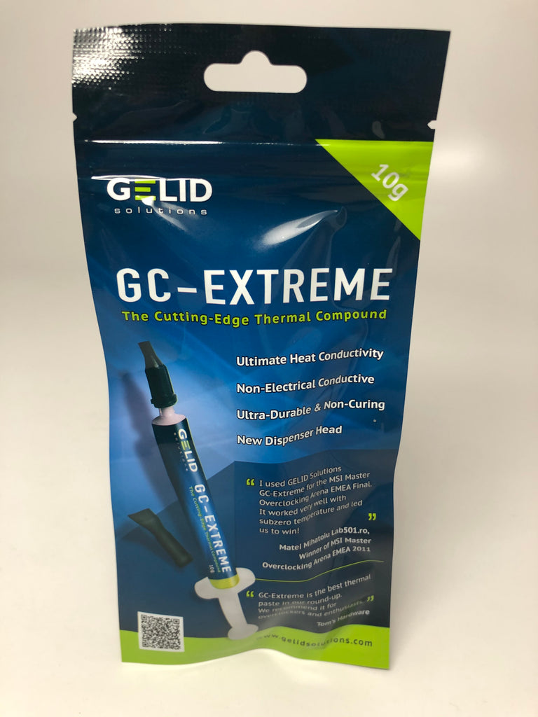 GELID SOLUTIONS THERMAL COMPOUND GC-EXTREME 10G (TC-GC-03-10g) ***FREE SHIPPING CONTINENTAL US***