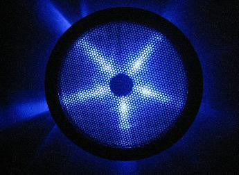 REXFLO Silent Jumbo 250x250x30mm Case Fan with BLUE LED