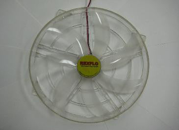 REXFLO Silent Jumbo 250x250x30mm Case Fan with NO LED