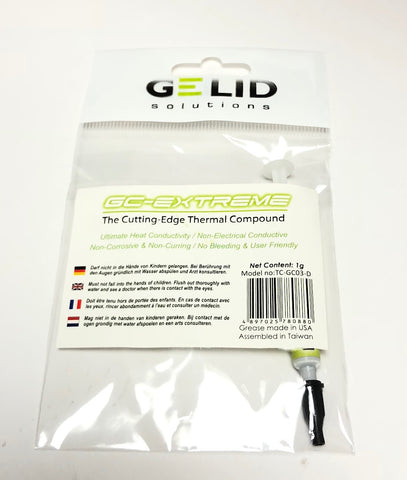 GELID SOLUTIONS GC EXtreme 1g (TC-GC-03-D)  ****Free Shipping in USA****