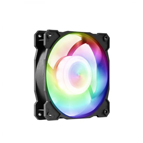 GELID SOLUTIONS Radiant-D (FN-RADIANTD-20) RGB LED Fans with Digital RGB Controller