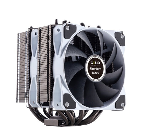 GELID SOLUTIONS Phantom Black Cooler (CC-Phantom-Black-01-A)