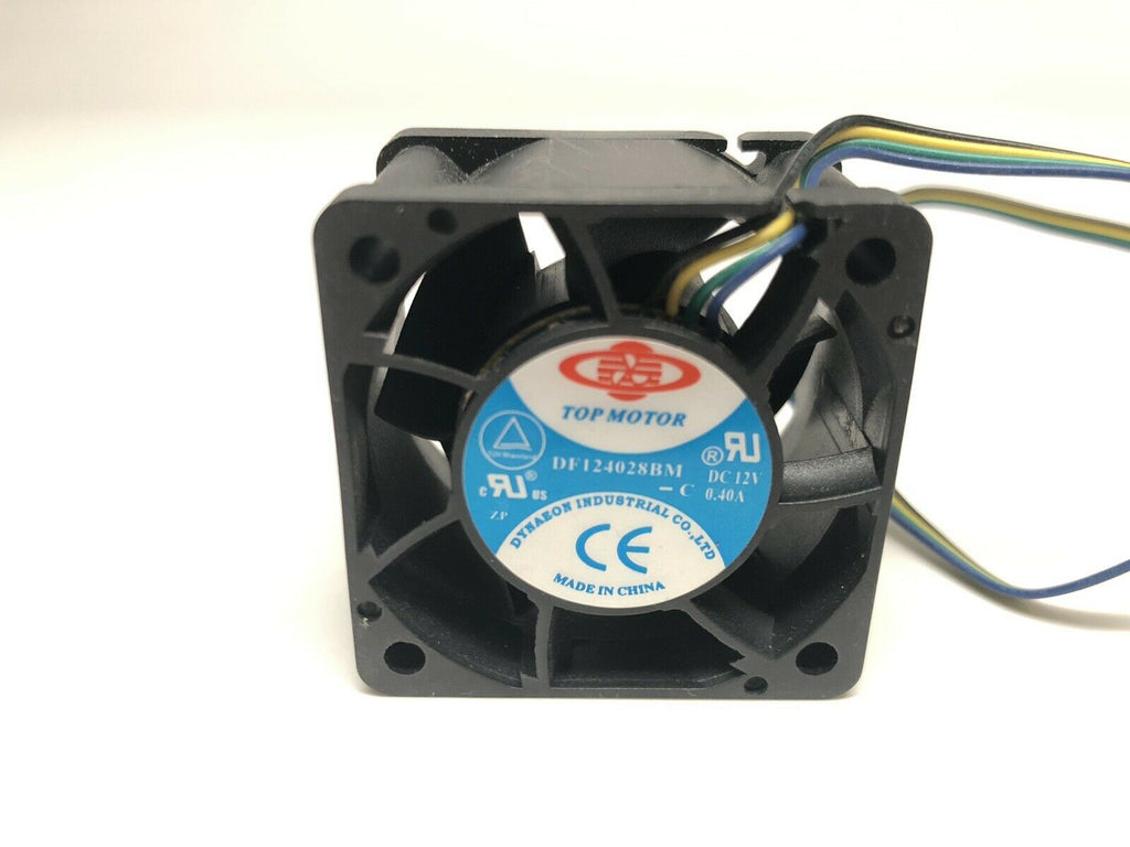 Top Motor DF124028BM-PWMG 40x40x28 12v 2-Ball Bearing 9000RPM PWM 4pin Fan
