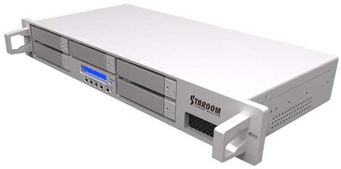 STARDOM DECK 5 Bays RAID Enclosure Mac / PC / USB 3.0 / FireWire 800 / FireWire 400 / eSATA RAID 0, 1, 3, 5, 10 & JBOD (Model#DR5-WBS3)   **Ships within 5 - 7 days**