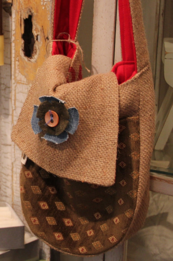 Burlap Boutique bag