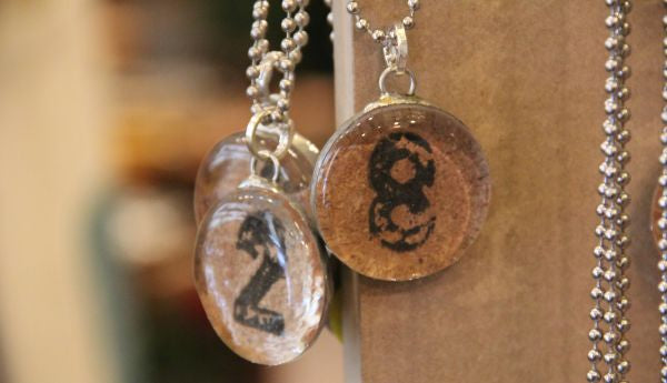 number.pendant