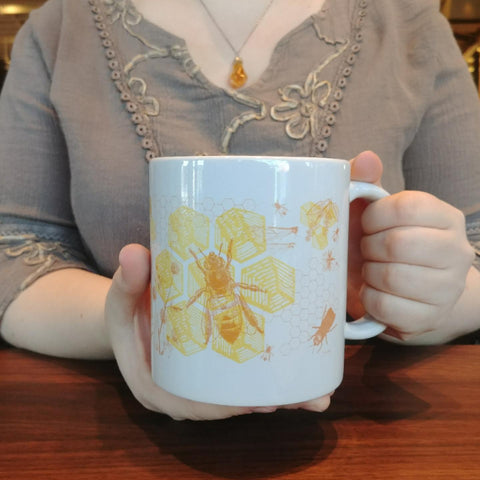 Honey Bees 20oz Mug