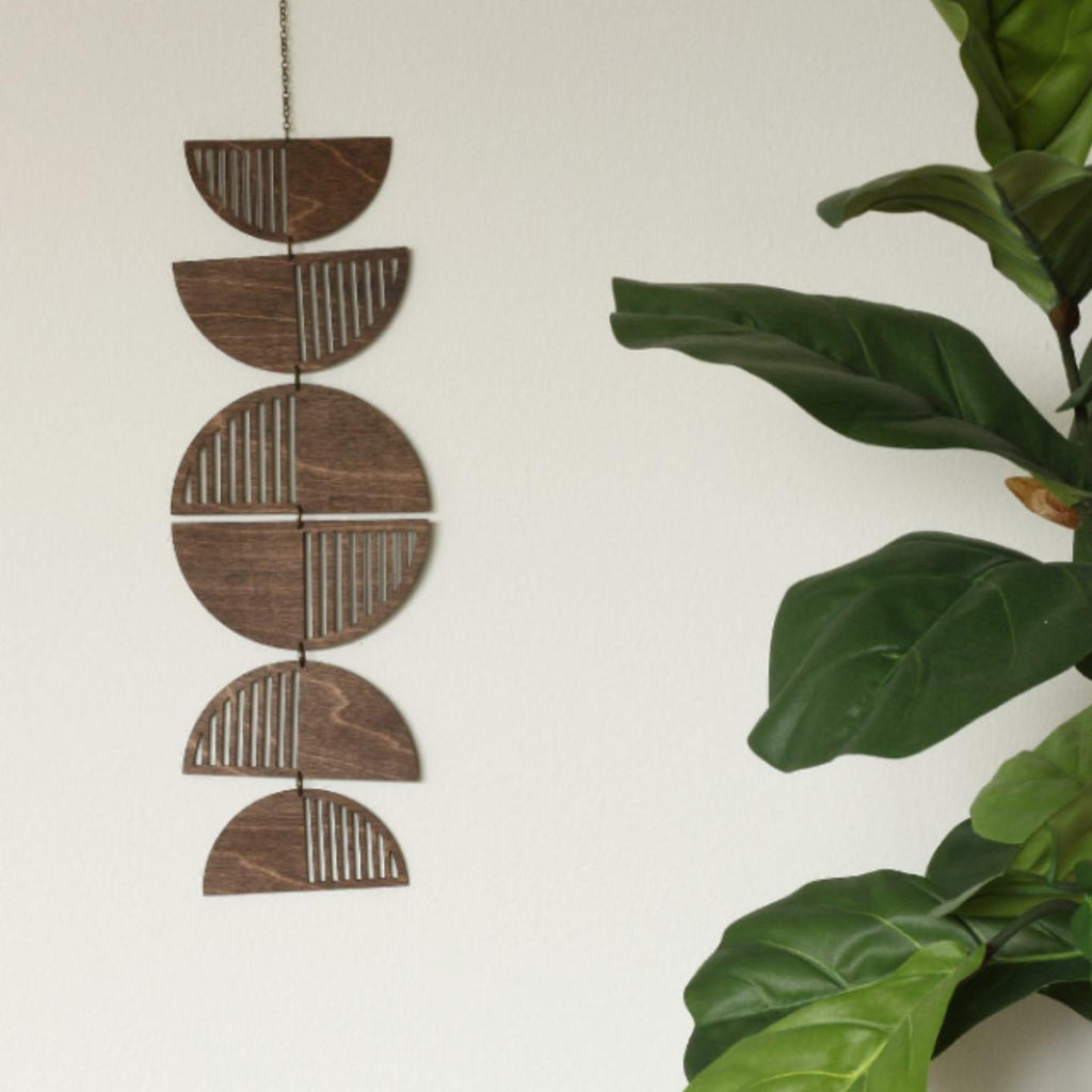 Laser Cut Wood Mobile