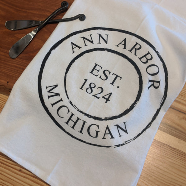 Ann Arbor Tea Towel