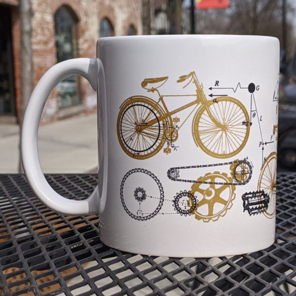 Bicycle Science 20oz Mug