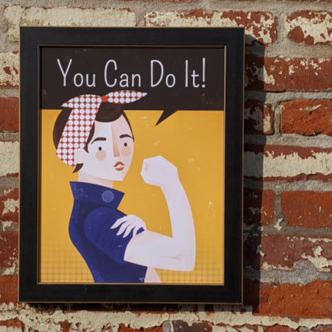 'You Can Do It' Print