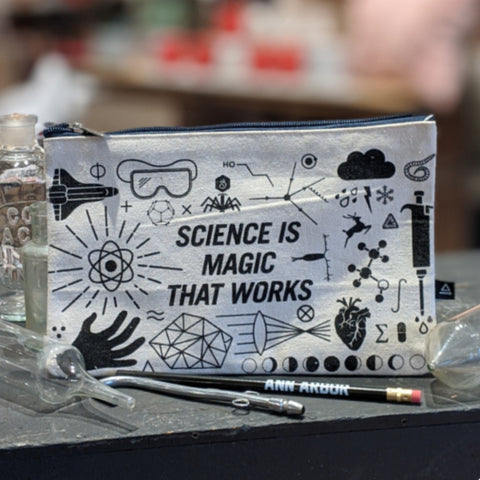 Science Is Magic That Works Zippered Bag