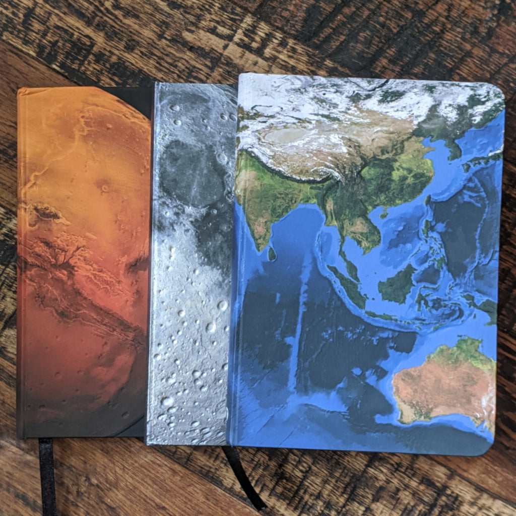 Augmented Reality Planetary Notebook