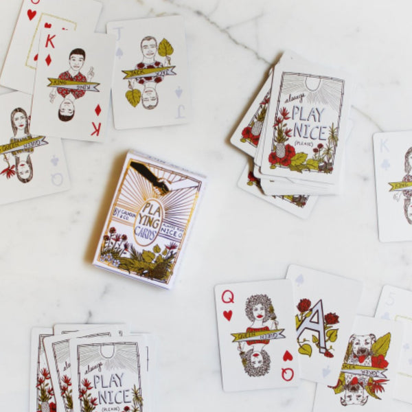 Play Nice (Please) Playing Cards