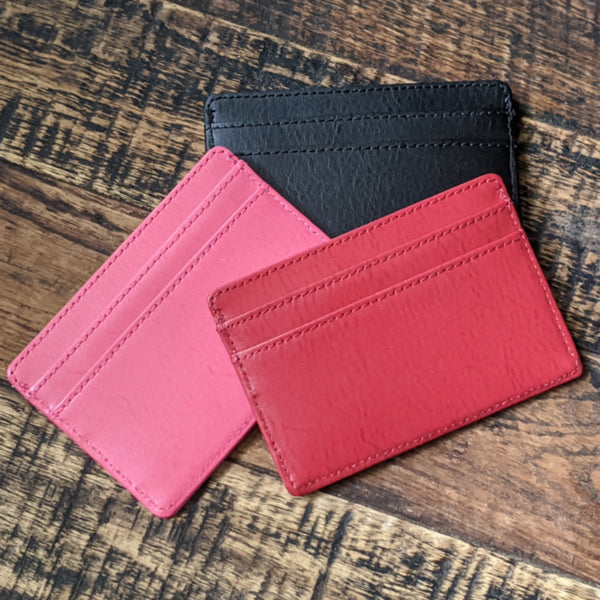 Recycled Leather I.D. Wallet