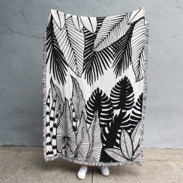 Reversible Jungle Throw