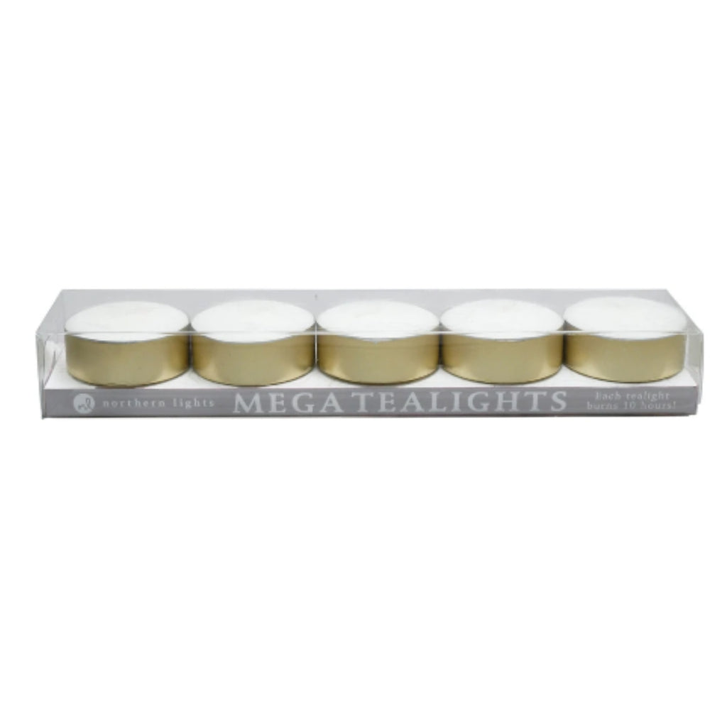 Mega Tealights - Five Pack