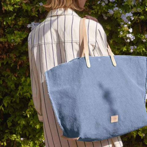 Hana Canvas Boat Bag