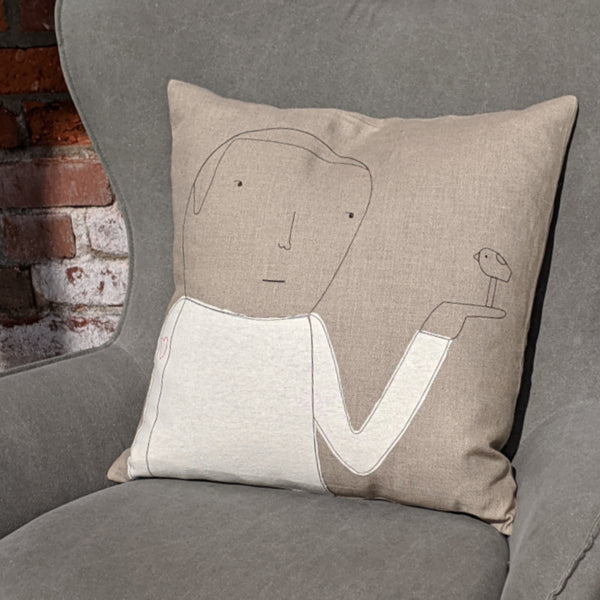 Heart on Sleeve Pillow
