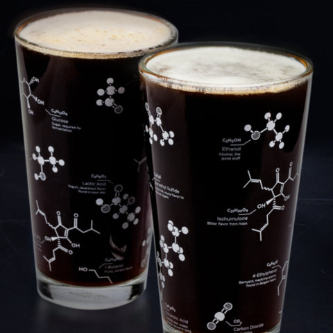 Beer Chemistry Pint Glass Set