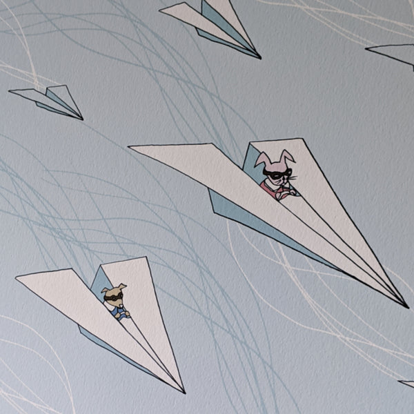 Paper Airplane Print