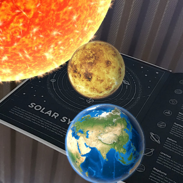 Augmented Reality NASA Notebook