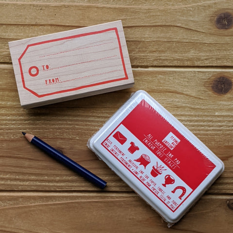 Custom Gift Tag Stamp Kit