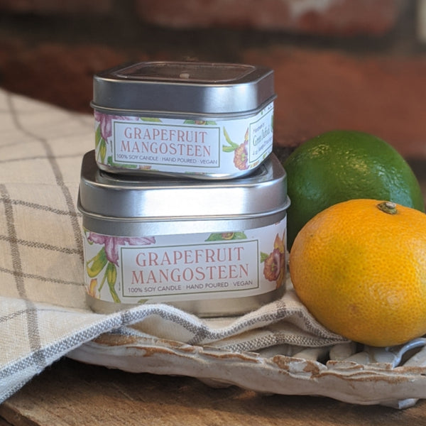 Grapefruit Mangosteen Soy Candle
