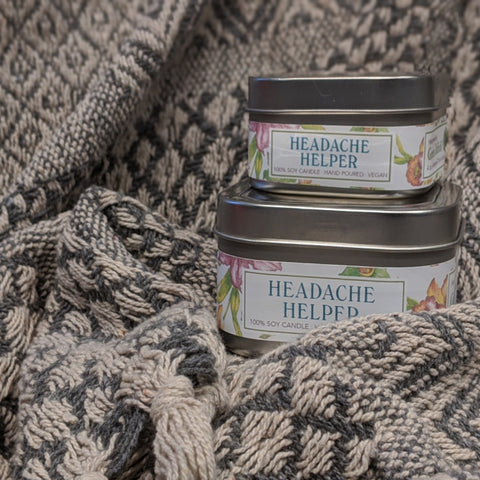 Headache Helper Soy Candle