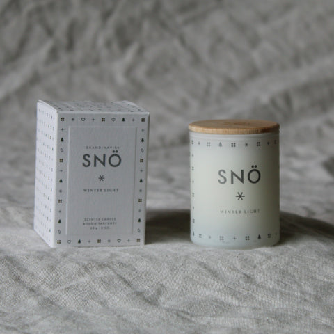 Sno Mini Scented Candle