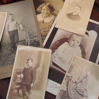 Antique Photographs - Bag of Instant Ancestors