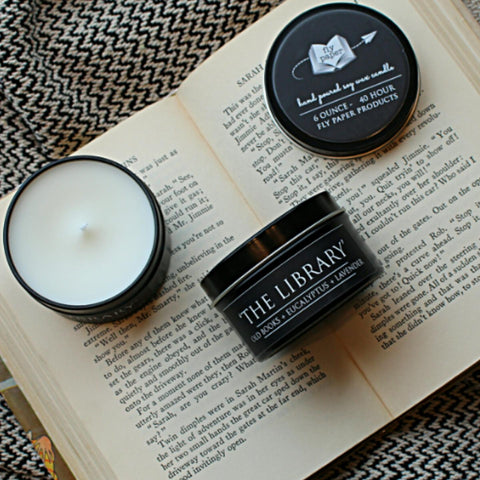 The Library Candle 6 oz