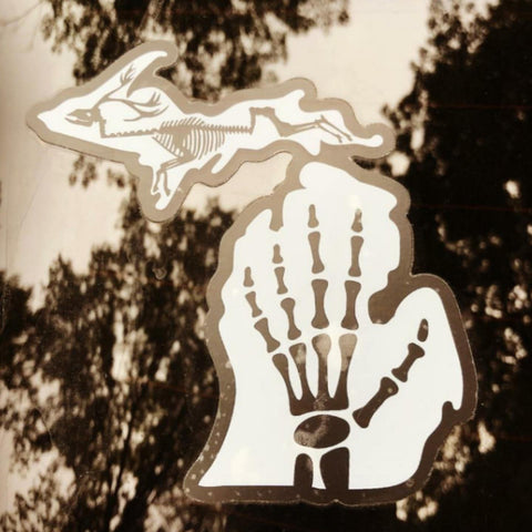 Michigan X-Ray Sticker